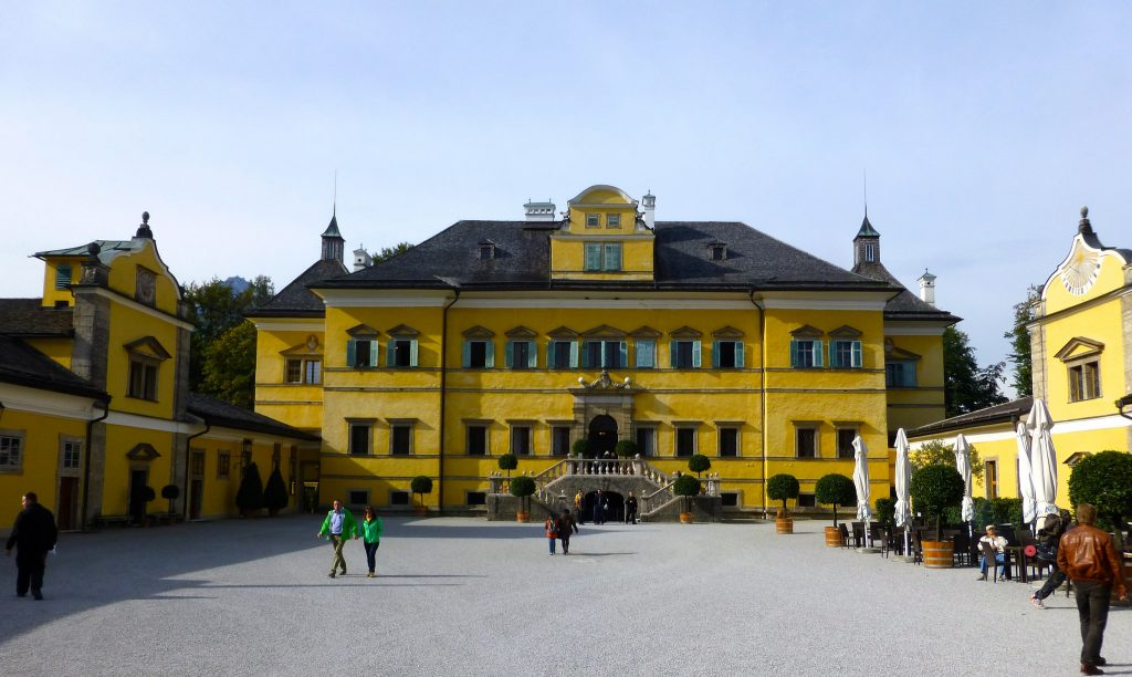 Hellbrunn Palace is a Salzburg Festival venue